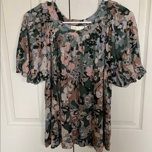 Maeve by Anthropologie 100% linen blouse NWT